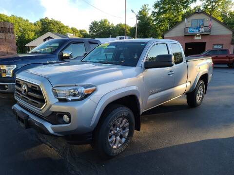 2017 Toyota Tacoma for sale at R C Motors in Lunenburg MA