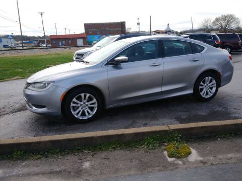 2016 Chrysler 200 for sale at Big Boys Auto Sales in Russellville KY