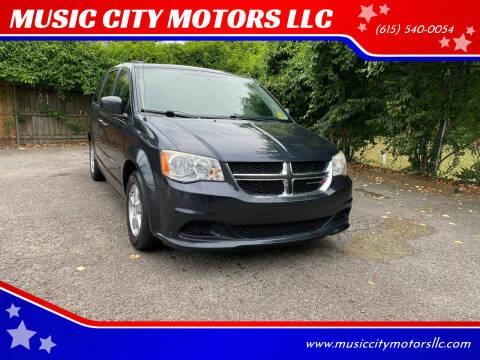 2013 Dodge Grand Caravan for sale at MUSIC CITY MOTORS LLC in Nashville TN