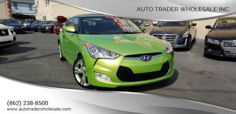 2012 Hyundai Veloster for sale at Auto Trader Wholesale Inc in Saddle Brook NJ