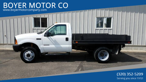 2000 Ford F-450 Super Duty for sale at BOYER MOTOR CO in Sauk Centre MN