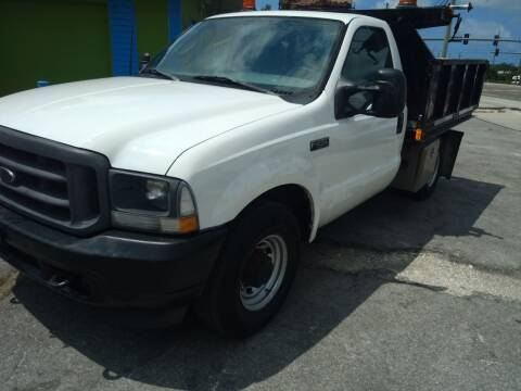 2003 Ford F-250 Super Duty for sale at Autos by Tom in Largo FL