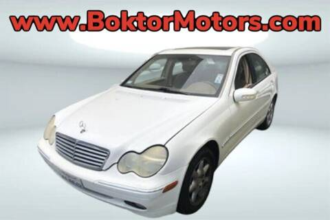 2001 Mercedes-Benz C-Class for sale at Boktor Motors in North Hollywood CA