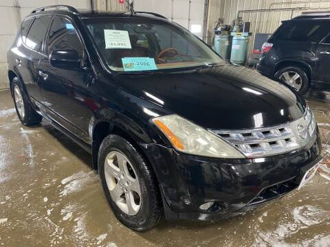 2003 Nissan Murano for sale at BERG AUTO MALL & TRUCKING INC in Beresford SD