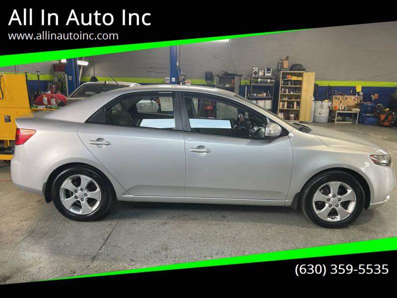 2010 Kia Forte for sale at All In Auto Inc in Addison IL