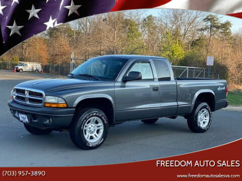 2004 Dodge Dakota for sale at Freedom Auto Sales in Chantilly VA