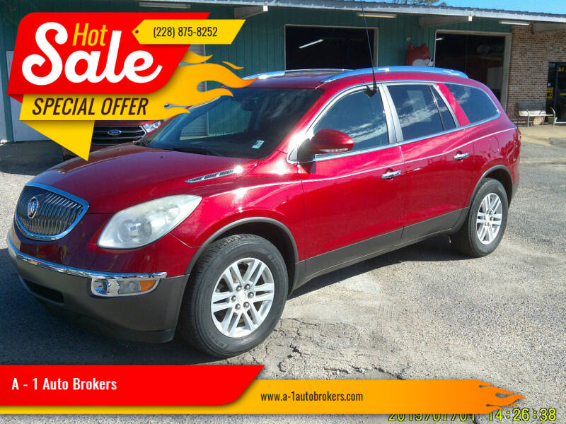 2012 Buick Enclave for sale at A - 1 Auto Brokers in Ocean Springs MS