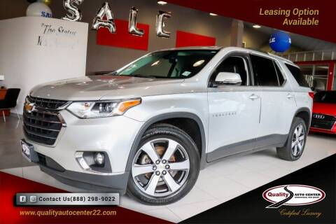 2018 Chevrolet Traverse for sale at Quality Auto Center of Springfield in Springfield NJ