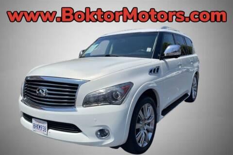 2011 Infiniti QX56 for sale at Boktor Motors in North Hollywood CA