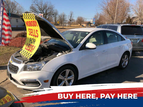 2016 Chevrolet Cruze Limited for sale at Marti Motors Inc in Madison IL