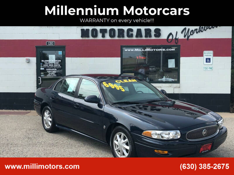 2003 Buick LeSabre for sale at Millennium Motorcars in Yorkville IL