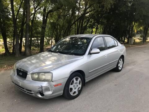 2002 Hyundai Elantra for sale at Race Auto Sales in San Antonio TX