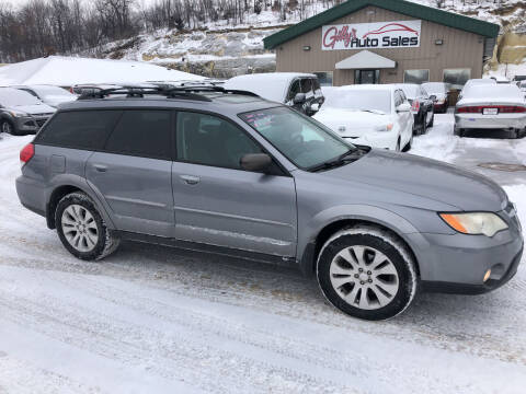 2009 Subaru Outback for sale at Gilly's Auto Sales in Rochester MN