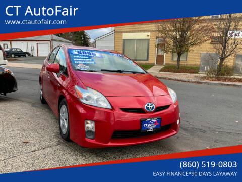 2011 Toyota Prius for sale at CT AutoFair in West Hartford CT