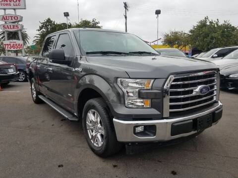 2017 Ford F-150 for sale at Convoy Motors LLC in Ramona CA
