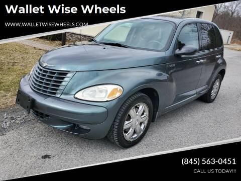 2003 Chrysler PT Cruiser for sale at Wallet Wise Wheels in Montgomery NY