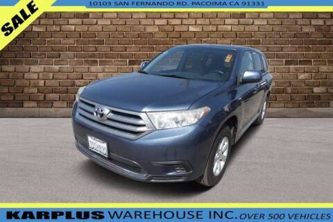 2013 Toyota Highlander for sale at Karplus Warehouse in Pacoima CA