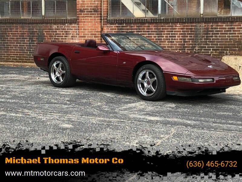 1993 Chevrolet Corvette for sale at Michael Thomas Motor Co in Saint Charles MO