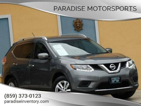 2015 Nissan Rogue for sale at Paradise Motor Sports LLC in Lexington KY