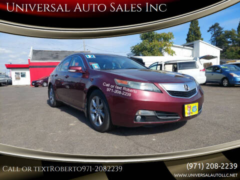 2012 Acura TL for sale at Universal Auto Sales Inc in Salem OR