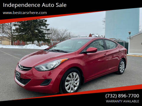 2013 Hyundai Elantra for sale at Independence Auto Sale in Bordentown NJ