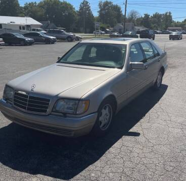 1998 Mercedes-Benz S-Class for sale at STARLITE AUTO SALES LLC in Amelia OH