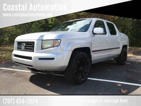 2006 Honda Ridgeline for sale at Coastal Automotive in Virginia Beach VA