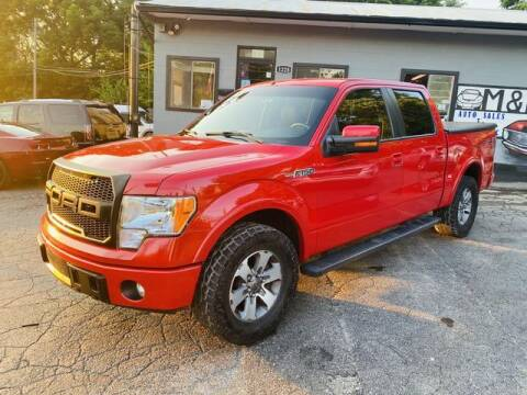 2010 Ford F-150 for sale at M&M's Auto Sales & Detail in Kansas City KS