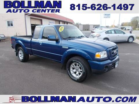 2010 Ford Ranger for sale at Bollman Auto Center in Rock Falls IL