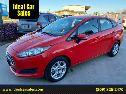 2015 Ford Fiesta for sale at Ideal Car Sales in Los Banos CA