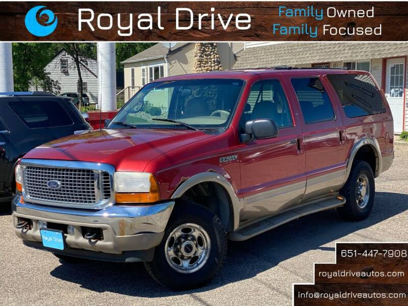 2001 Ford Excursion for sale at Royal Drive in Newport MN