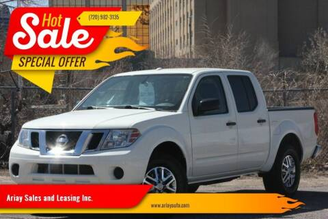 2015 Nissan Frontier for sale at Ariay Sales and Leasing Inc. - Pre Owned Storage Lot in Denver CO