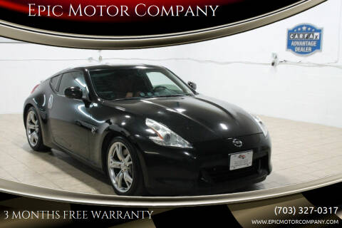 2012 Nissan 370Z for sale at Epic Motor Company in Chantilly VA