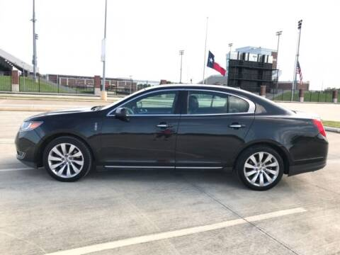 2013 Lincoln MKS for sale at ALL AMERICAN FINANCE AND AUTO in Houston TX