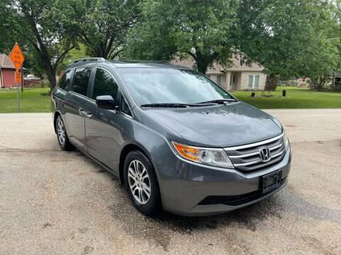 2012 Honda Odyssey for sale at CARWIN MOTORS in Katy TX