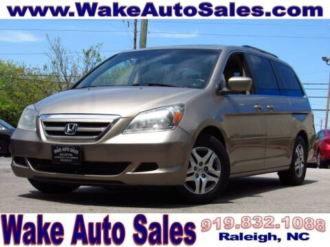 2007 Honda Odyssey for sale at Wake Auto Sales Inc in Raleigh NC