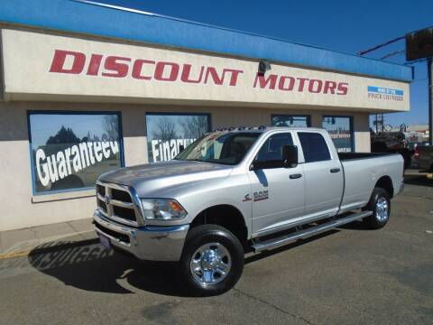 2015 RAM Ram Pickup 3500 for sale at Discount Motors in Pueblo CO
