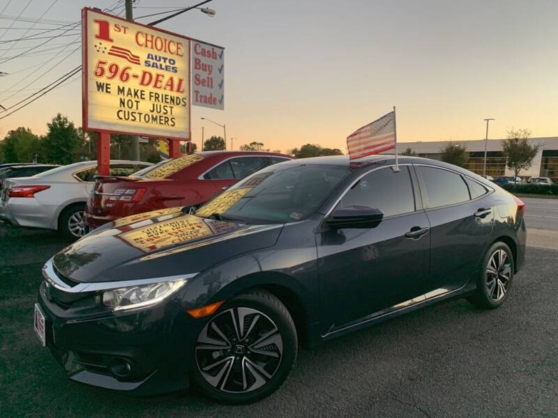 2017 Honda Civic for sale at 1st Choice Auto Sales in Newport News VA