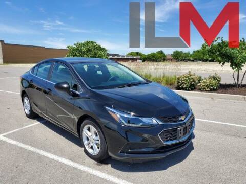 2016 Chevrolet Cruze for sale at INDY LUXURY MOTORSPORTS in Fishers IN
