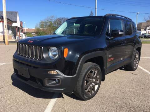 2016 Jeep Renegade for sale at Borderline Auto Sales in Loveland OH