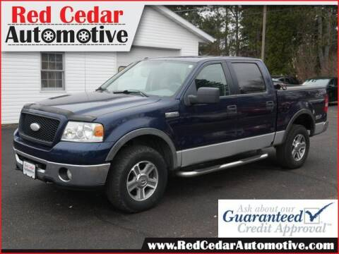 2006 Ford F-150 for sale at Red Cedar Automotive in Menomonie WI