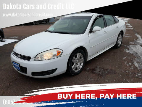 2011 Chevrolet Impala for sale at Dakota Cars and Credit LLC in Sioux Falls SD