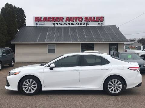 2020 Toyota Camry for sale at BLAESER AUTO LLC in Chippewa Falls WI