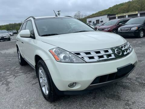 2003 Nissan Murano for sale at Ron Motor Inc. in Wantage NJ