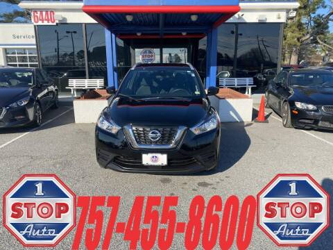 2020 Nissan Kicks for sale at 1 Stop Auto in Norfolk VA