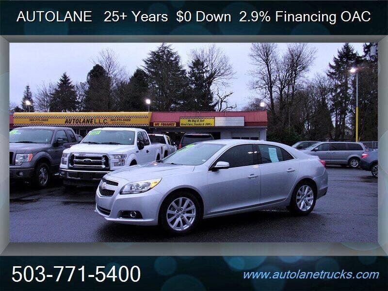 2013 Chevrolet Malibu for sale at Auto Lane in Portland OR