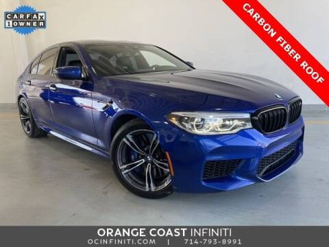 2018 BMW M5 for sale at ORANGE COAST CARS in Westminster CA