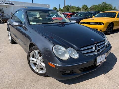 2009 Mercedes-Benz CLK for sale at KAYALAR MOTORS - ECUFAST HOUSTON in Houston TX