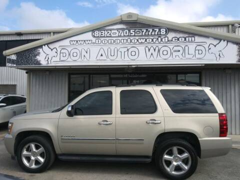 2009 Chevrolet Tahoe for sale at Don Auto World in Houston TX