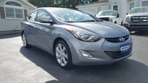 2013 Hyundai Elantra for sale at Falleti Motors, Inc.  est. 1976 in Batavia NY
